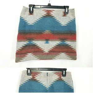 American Eagle Wool Blend Western Skirt